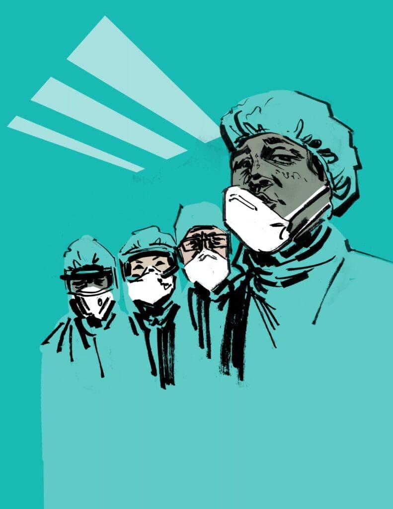 γιατροί κοροναιός
