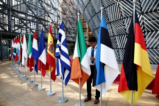 Belgium; brussels; country; eu; eu summit; europe; european council; european council offices; european union; european union summit; flag; flags; leader; leaders; state; summit; architecture; building; council of the european union; design; europa buildi