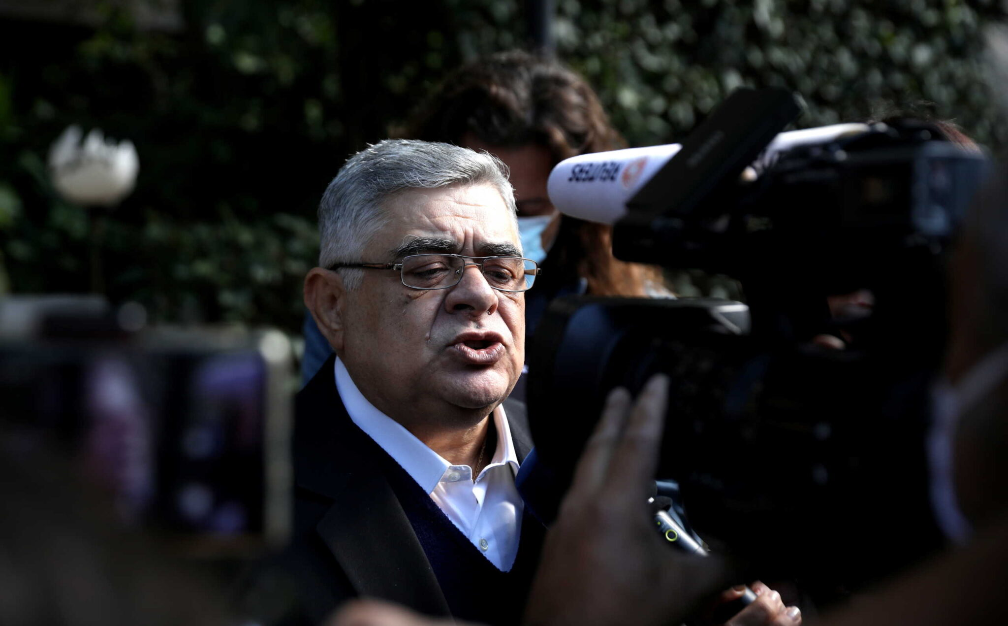 Trial of leaders and members of the golden dawn far right party, in athens